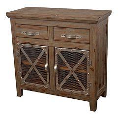 Decor Therapy Chicken Wire Storage Cabinet