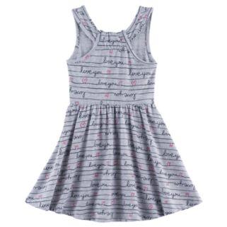 Toddler Girl Jumping Beans® Print Racerback Skater Dress