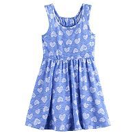 Toddler Girl Jumping Beans® Print Racerback Skater Dress