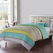 VCNY Dharma Embellished Comforter Set
