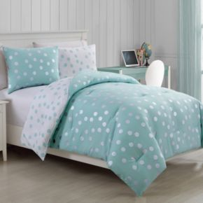 VCNY Dotty Metallic Comforter Set
