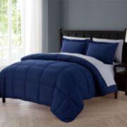 VCNY 5-piece Lincoln Down-Alternative Comforter Set