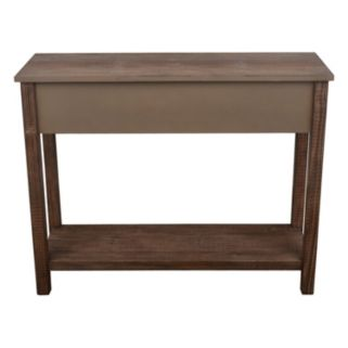 Decor Therapy Distressed Wood Console Table