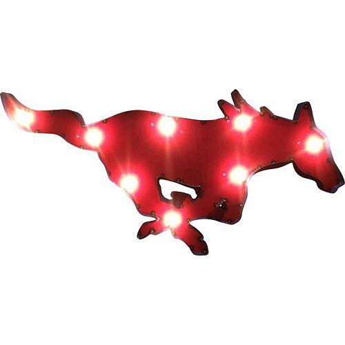 SMU Mustangs Light-Up Wall Décor