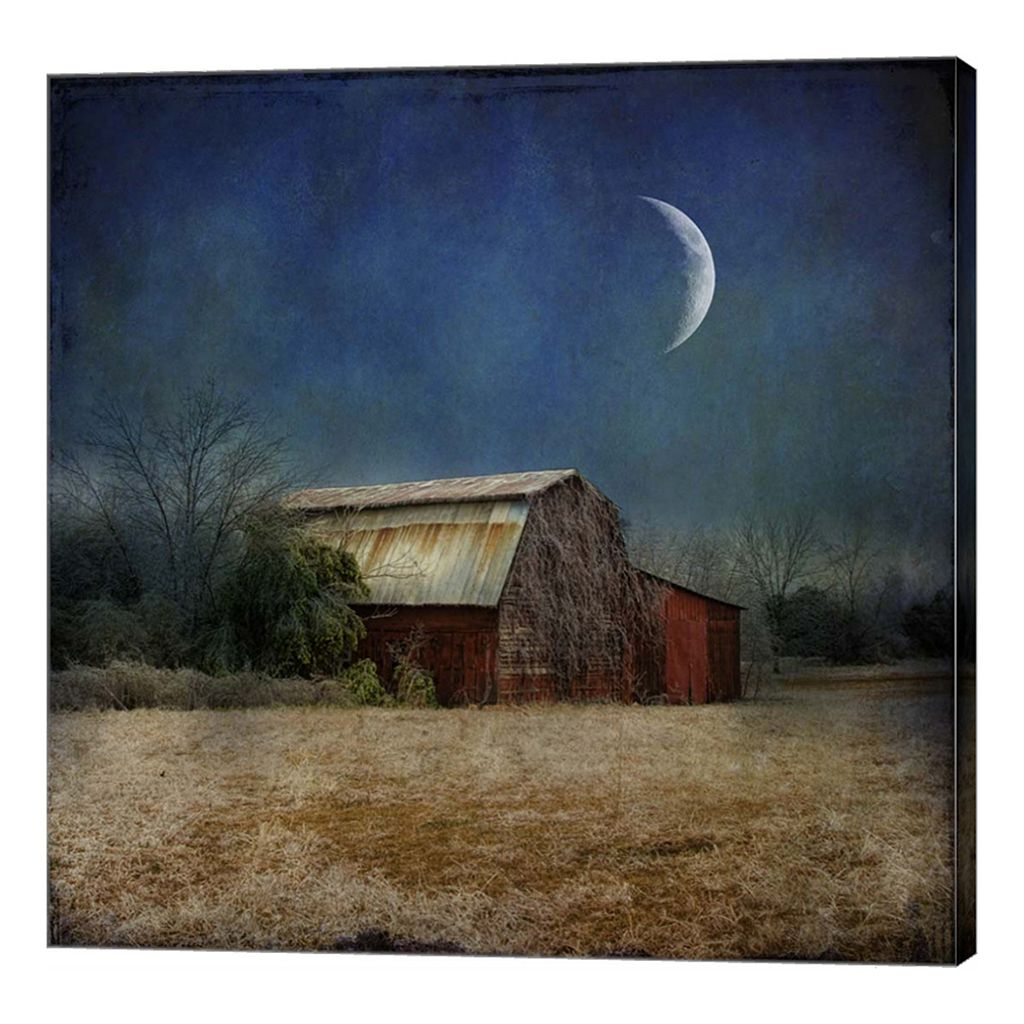 Metaverse Art In the Land of Cotton Canvas Wall Art