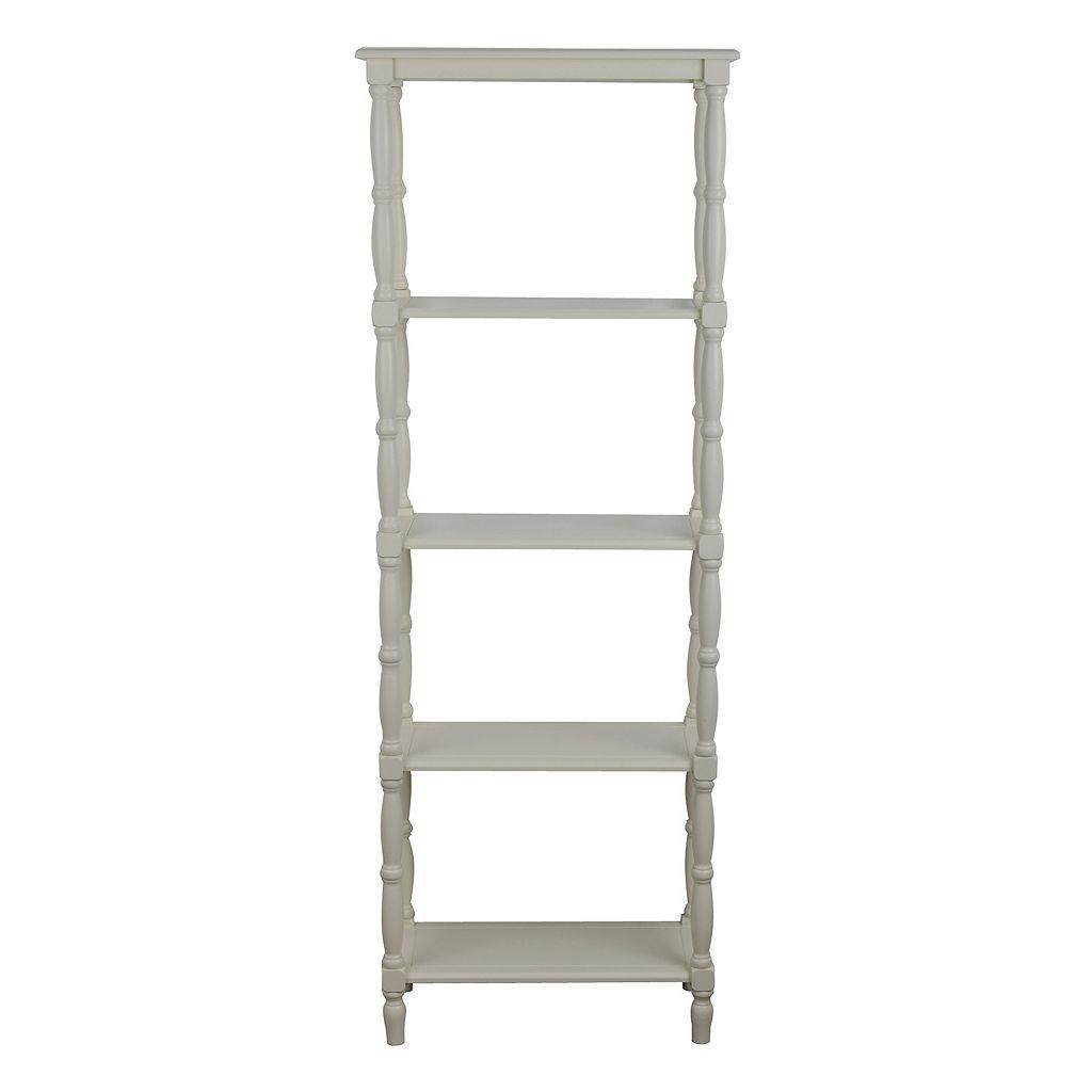 Decor Therapy Simplify 5-Tier Bookshelf