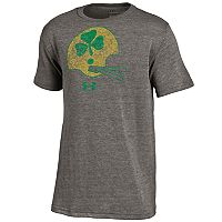 Boys 8-20 Under Armour Notre Dame Fighting Irish Helmet Triblend Tee