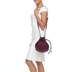 LC Lauren Conrad German Soft Bucket Bag