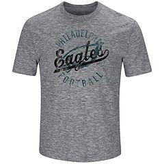 Big & Tall Majestic Philadelphia Eagles Slubbed Tee