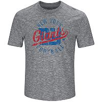 Big & Tall Majestic New York Giants Slubbed Tee