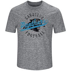 Big & Tall Majestic Carolina Panthers Slubbed Tee