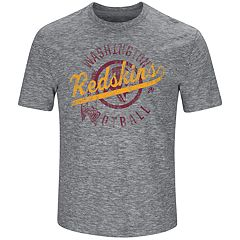 Big & Tall Majestic Washington Redskins Slubbed Tee
