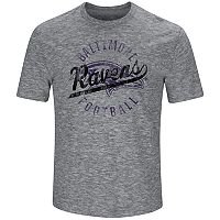 Big & Tall Majestic Baltimore Ravens Slubbed Tee