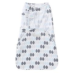 Baby HALO SwaddleSure One-Piece Leaf Swaddle