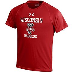Boys 8-20 Under Armour Wisconsin Badgers Tech Tee