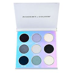 Academy of Colour Holographic 9 Shade Eyeshadow Palette