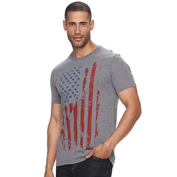 Men's Apt. 9® Abstract American Flag Tee