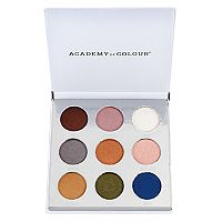 Academy of Colour Metallic 9 Shade Eyeshadow Palette