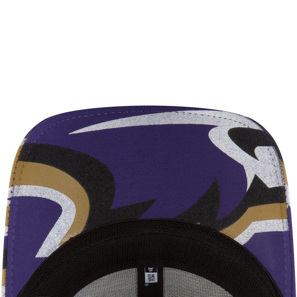 Adult New Era Baltimore Ravens 39THIRTY NFL Draft Spotlight Flex-Fit Cap
