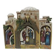 St. Nicholas Square® Nativity Scene Christmas Table Decor 3 pc Set