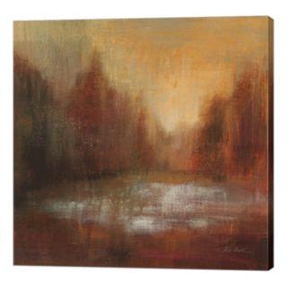 Metaverse Art Rain I Canvas Wall Art