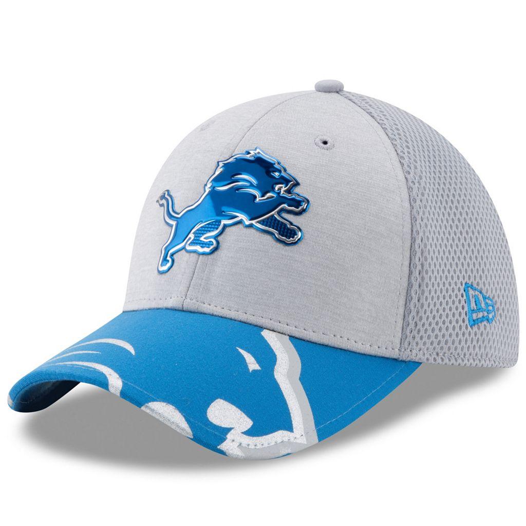 Adult New Era Detroit Lions 39THIRTY NFL Draft Spotlight Flex-Fit Cap