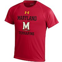 Boys 8-20 Under Armour Maryland Terrapins Tech Tee
