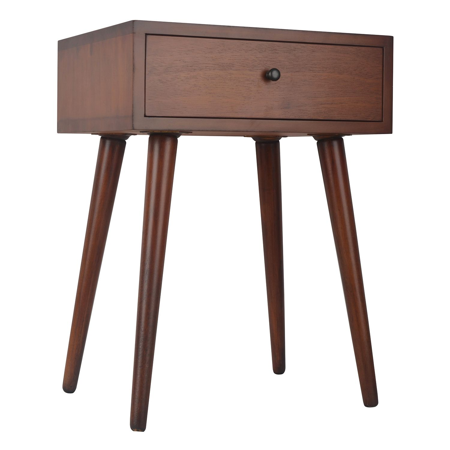 Decor Therapy Mid Century Modern End Table