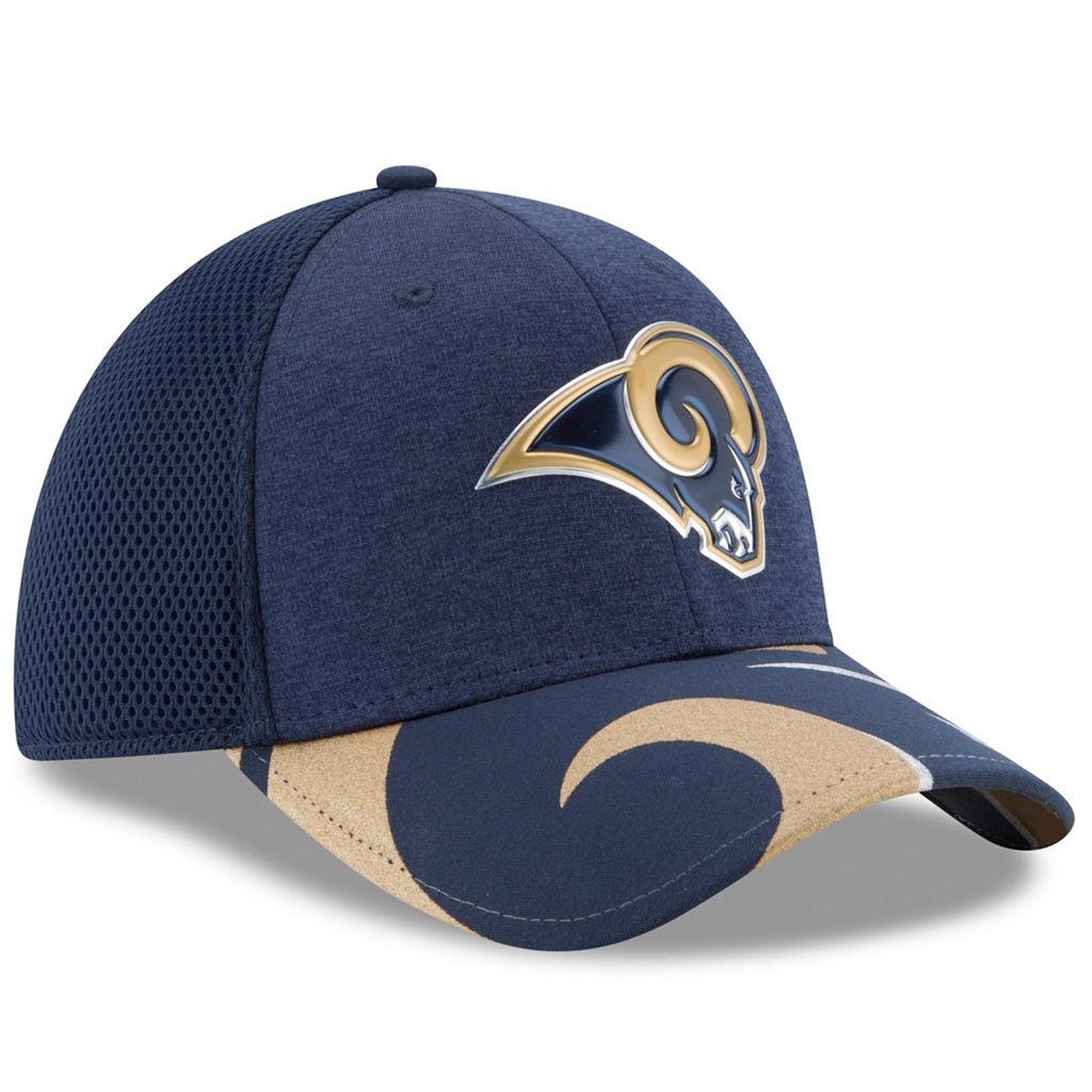 Adult New Era Los Angeles Rams 39THIRTY NFL Draft Spotlight Flex-Fit Cap