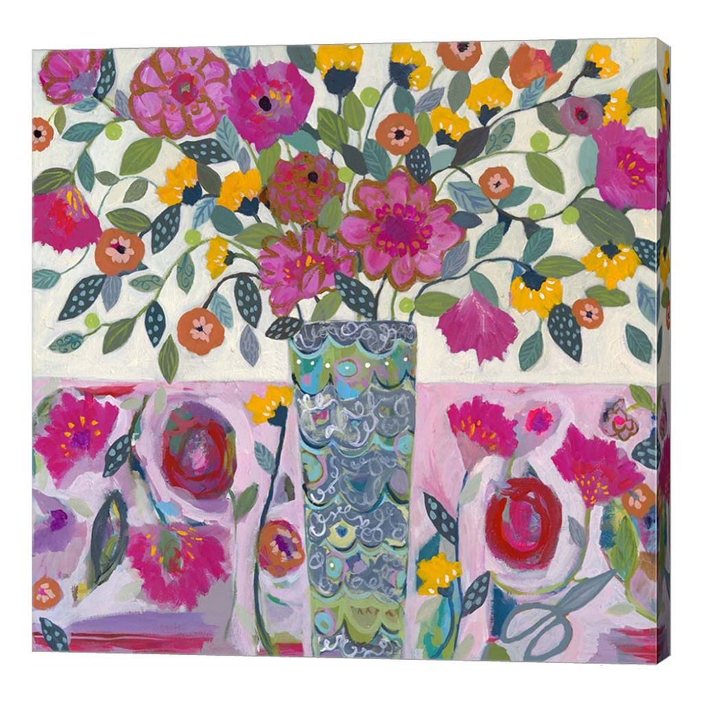 Metaverse Art Amazing Vase Canvas Wall Art
