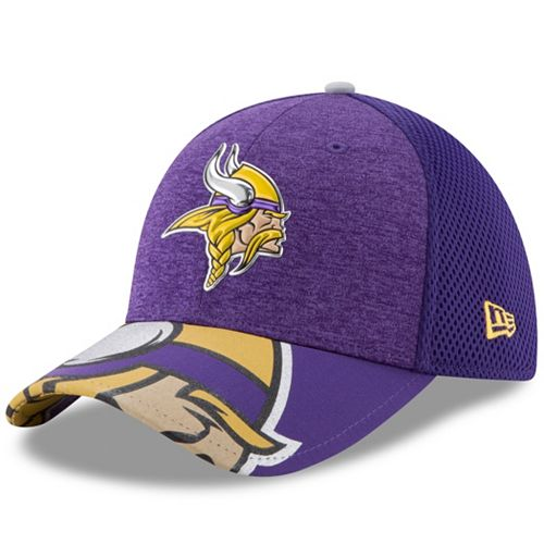 Adult New Era Minnesota Vikings 39THIRTY NFL Draft Spotlight Flex-Fit Cap 8903bef8cd4