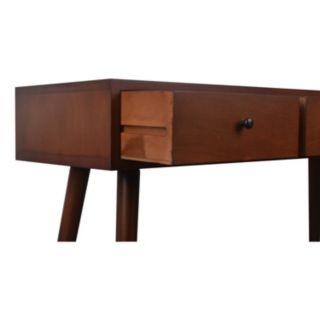 Decor Therapy Mid-Century Modern Console Table