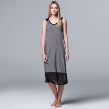 Women's Simply Vera Vera Wang Pajamas: Midsummer Story Chemise
