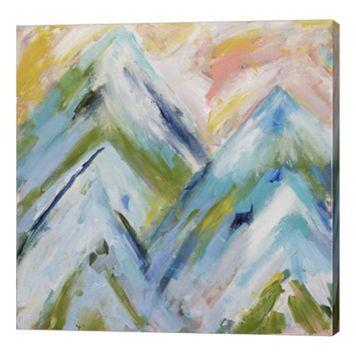 Metaverse Art Colorado Bluebird Sky Canvas Wall Art