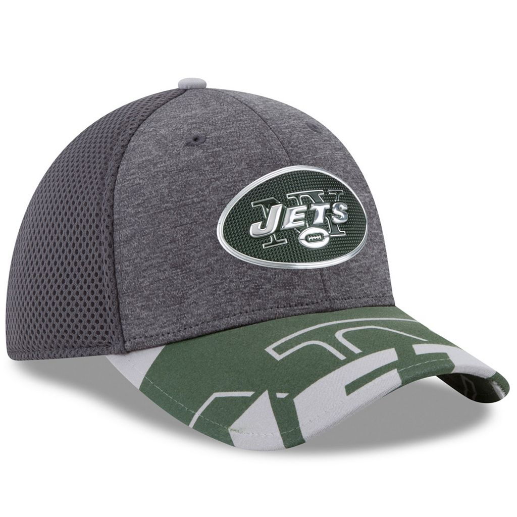 Adult New Era New York Jets 39THIRTY NFL Draft Spotlight Flex-Fit Cap