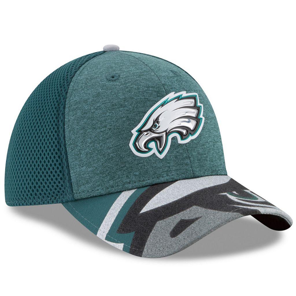 Adult New Era Philadelphia Eagles 39THIRTY NFL Draft Spotlight Flex-Fit Cap