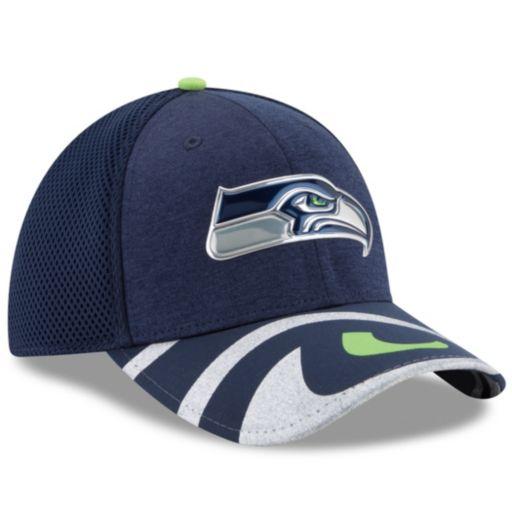 Adult New Era Seattle Seahawks 39THIRTY NFL Draft Spotlight Flex-Fit Cap