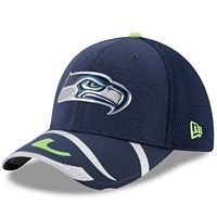 Adult New Era Seattle Seahawks 39THIRTY NFL Draft Spotlight Flex-Fit Cap