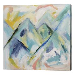 Metaverse Art Mile High Canvas Wall Art