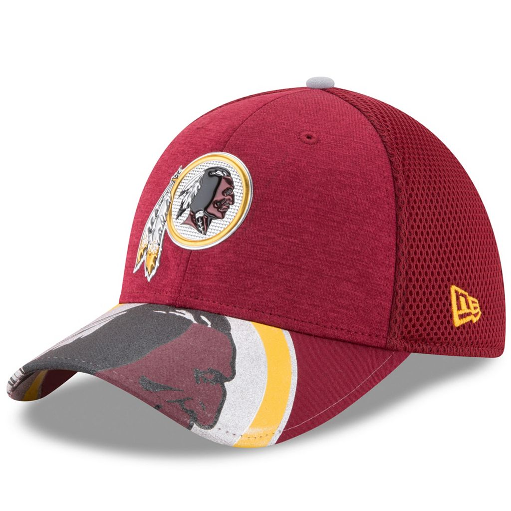 Adult New Era Washington Redskins 39THIRTY NFL Draft Spotlight Flex-Fit Cap