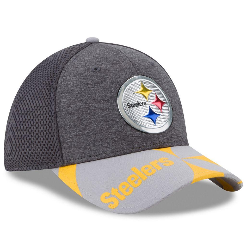 Adult New Era Pittsburgh Steelers 39THIRTY NFL Draft Spotlight Flex-Fit Cap