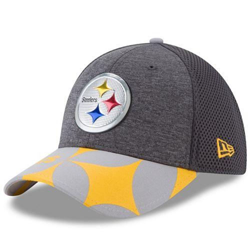 Adult New Era Pittsburgh Steelers 39THIRTY NFL Draft Spotlight Flex-Fit Cap 529997df2b6f
