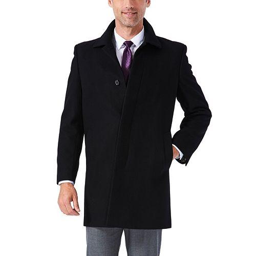 Men's Ike Behar Classic-Fit Wool-Blend Top Coat