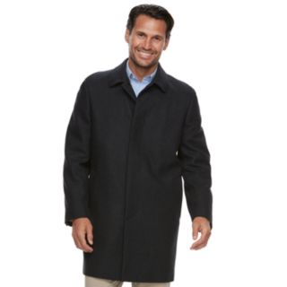 Men's Ike Behar Classic-Fit Wool-Blend Top Coat