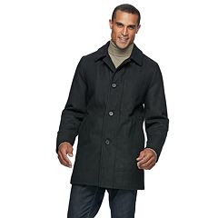 Men's Ike Behar Seville Classic-Fit Wool-Blend Top Coat