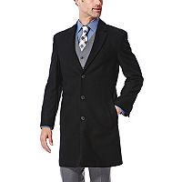 Men's Ike Behar Modern-Fit Wool-Blend Top Coat