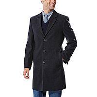Men's Ike Behar Modern-Fit Wool-Blend Top Coat