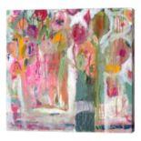 Metaverse Art Pink Melody Canvas Wall Art