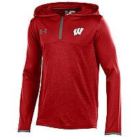 Boys 8-20 Under Armour Wisconsin Badgers Tech Hoodie
