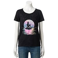 Disney's The Little Mermaid Ariel Juniors' Stars Graphic Tee